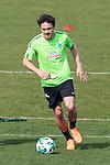 10.04.2018, Trainingsgelaende, Bremen, GER, 1.FBL, Training SV Werder Bremen<br /> <br /> im Bild<br /> Jerome Gondorf (Werder Bremen #08) mit Kopfball, <br /> <br /> Foto &copy; nordphoto / Ewert