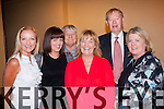 Singing along<br /> ----------------<br /> Attending the Paidi O'Se fundraiser in the Gleneagle hotel,Killarney l;ast Friday night were L-R Beirn&iacute; N&iacute; Chuinn,Eimeor N&iacute; Fhlann&uacute;ra,T&oacute;mas O'Se,Sulu N&iacute; Chuinn,Mehall O Murahurtig?? agus deirdre N&iacute; Chuinn.