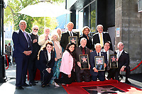 LOS ANGELES - FEB 24:  The Lettermen, Chamber officials, and former Lettermen members, Connie Stevens at the The Lettermen Star Ceremony on the Hollywood Walk of Fame on February 24, 2019 in Los Angeles, CA