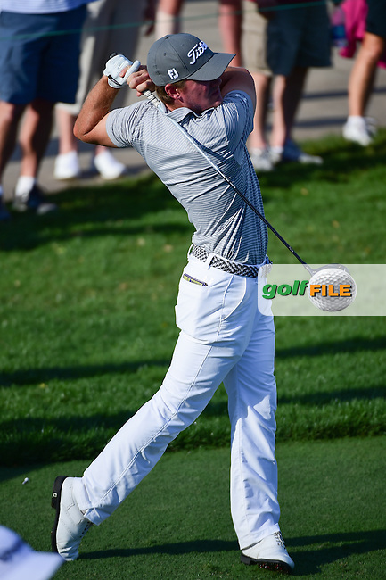 John Peterson (USA) watches his tee shot on 13 during round 1 of the Honda Classic, PGA National, Palm Beach Gardens, West Palm Beach, Florida, USA. 2/23/2017.<br /> Picture: Golffile | Ken Murray<br /> <br /> <br /> All photo usage must carry mandatory copyright credit (&copy; Golffile | Ken Murray)