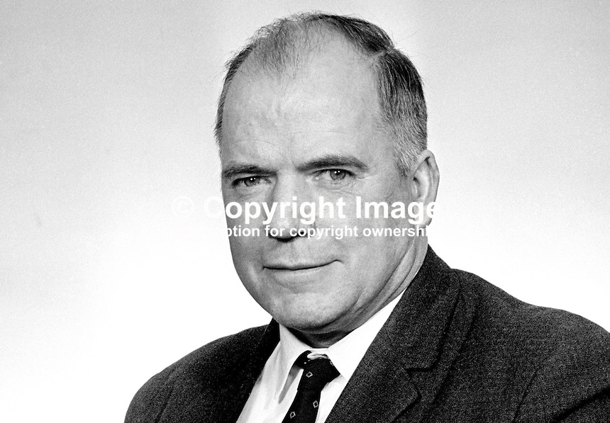 James O'Reilly, aka Seamus O'Reilly, Nationalist Party, MP, N Ireland Parliament, Stormont, Belfast, 196903000094.<br /> <br /> Copyright Image from Victor Patterson,<br /> 54 Dorchester Park, Belfast, UK, BT9 6RJ<br /> <br /> t1: +44 28 90661296<br /> t2: +44 28 90022446<br /> m: +44 7802 353836<br /> <br /> e1: victorpatterson@me.com<br /> e2: victorpatterson@gmail.com<br /> <br /> For my Terms and Conditions of Use go to<br /> www.victorpatterson.com