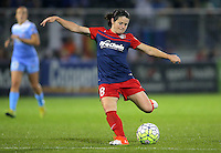 Boyds, MD - Friday Sept. 30, 2016: Diana Matheson during a National Women's Soccer League (NWSL) semi-finals match between the Washington Spirit and the Chicago Red Stars at Maureen Hendricks Field, Maryland SoccerPlex. The Washington Spirit won 2-1 in overtime.