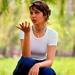 Elvira Kulieva - soviet and russian film and theater actress. | Эльвира Кулиева - cоветская и российская актриса театра и кино.