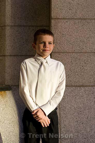 Salt Lake City - Unruh portrait. Monday, December 3, 2007.