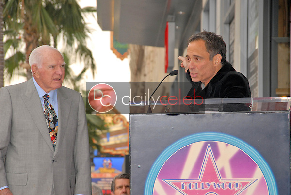 Judge Joseph A. Wapner and Harvey Levin<br />