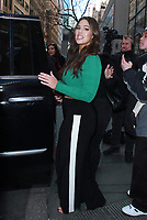 NEW YORK, NY - JANUARY 24: Ashley Graham seen at NBC's Today Show in New York City on January 24, 2018. Credit: RW/MediaPunch