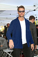 LOS ANGELES - MAR 25:  Justin Hartley at the Mandy Moore Star Ceremony on the Hollywood Walk of Fame on March 25, 2019 in Los Angeles, CA