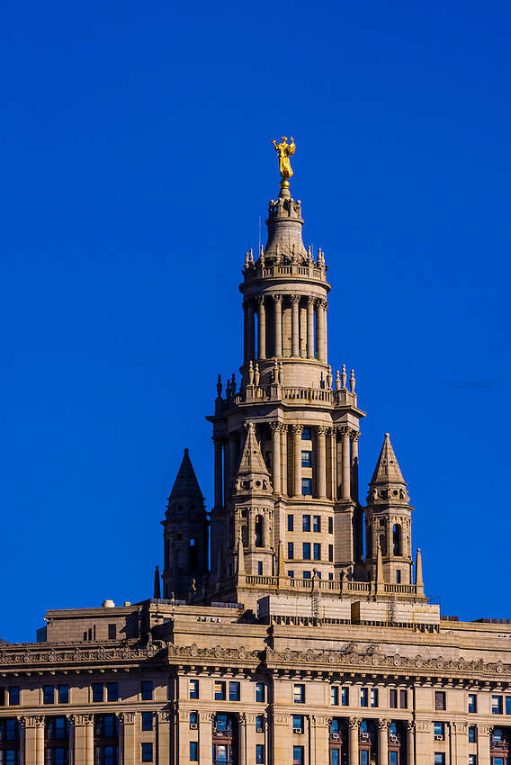 Manhattan Municipal Building, New York, New York USA.