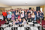 CHRISTENING PARTY: Padraigh and Marie Pellican, Listowel with baby Autumn Lily Marie, who was christened in Ballydonoghue Church by Fr. John Lawlor on Sunday and celebrated afterwards in the Listowel Arms Hotel with family and friends.