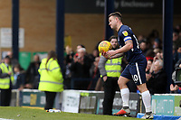 Hat-trick hero Simon Cox of Southend United with the match ball during Southend United vs Portsmouth, Sky Bet EFL League 1 Football at Roots Hall on 16th February 2019