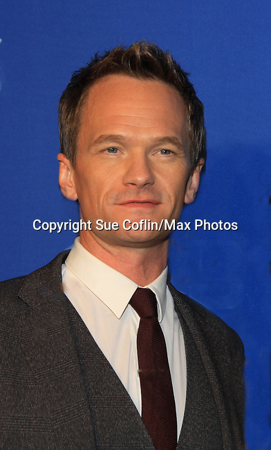 Neil Patrick Harris stars in How I Met Your Mother at the CBS Upfront on May 15, 2013 at Lincoln Center, New York City, New York. (Photo by Sue Coflin/Max Photos)