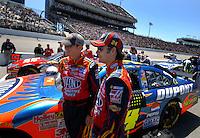 May 6, 2007; Richmond, VA, USA; Nascar Nextel Cup Series driver Jeff Gordon (24) during the Jim Stewart 400 at Richmond International Raceway. Mandatory Credit: Mark J. Rebilas