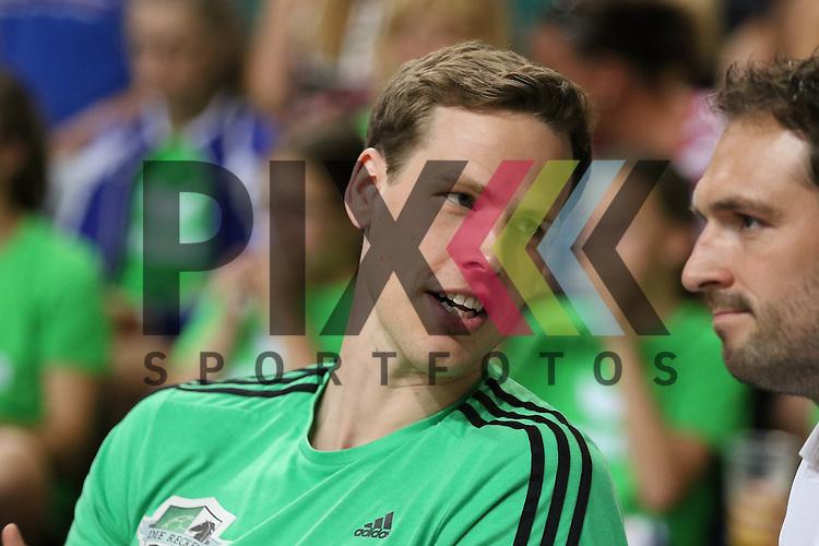 Bremen, 09.08.15, Sport, Handball, Erima-Cup 2015, MT Melsungen-TSV Hannover-Burgdorf : Sven-S&ouml;ren Christophersen (TSV Hannover-Burgdorf, #66)<br /> <br /> Foto &copy; P-I-X.org *** Foto ist honorarpflichtig! *** Auf Anfrage in hoeherer Qualitaet/Aufloesung. Belegexemplar erbeten. Veroeffentlichung ausschliesslich fuer journalistisch-publizistische Zwecke. For editorial use only.