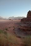 Morning light at Wadi Rum