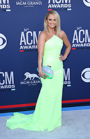 07 April 2019 - Las Vegas, NV - Miranda Lambert. 2019 ACM Awards at MGM Grand Garden Arena, Arrivals.<br /> CAP/ADM/MJT<br /> &copy; MJT/ADM/Capital Pictures
