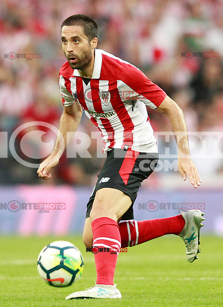 Athletic Club de Bilbao's Xavier Etxeita during Europa League Third Qualifying Round, 2nd leg. April 5,2012. (ALTERPHOTOS/Acero) /NortePhoto.com