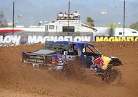 Apr 17, 2011; Surprise, AZ USA; LOORRS driver Ricky Johnson (48) during round 4 at Speedworld Off Road Park. Mandatory Credit: Mark J. Rebilas-