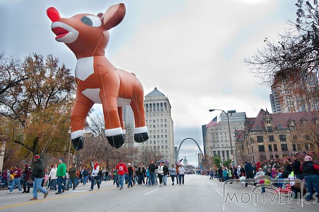 Thankgiving Day Parade in St. Louis MO, 2011