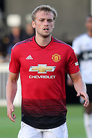 James Wilson of Manchester United U23's during Fulham Under-23 vs Manchester United Under-23, Premier League 2 Football at Motspur Park on 10th August 2018