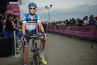 Giro d'Italia stage 13.Savano-Cervere: 121km..Jack Bauer before the race