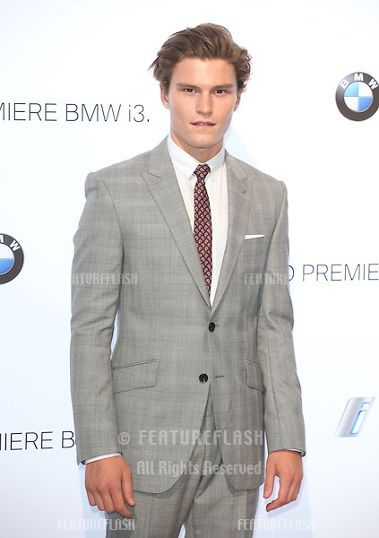 Oliver Cheshire arriving for the BMW i3 Launch Party, at Old Billingsgate, London. 29/07/2013 Picture by: Alexandra Glen / Featureflash