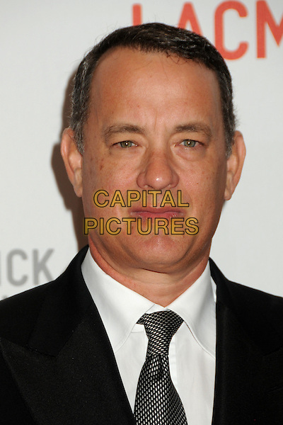 """TOM HANKS .LACMA's """"The Unmasking"""" of the Lynda & Stewart Resnick Exhibition Pavilion Opening Gala held at the Los Angeles County Museum of Art, - Los Angeles, California, USA, 25th September 2010..portrait headshot black tie white shirt .CAP/ADM/BP.©Byron Purvis/AdMedia/Capital Pictures."""