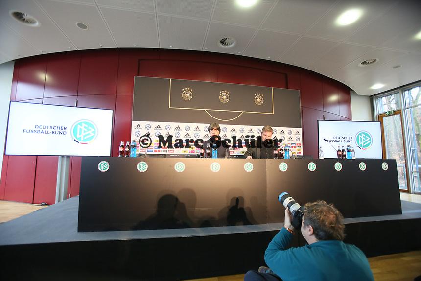 Bundestrainer Joachim Loew (Deutschland Germany) - 15.03.2019: Pressekonferenz der Deutschen Nationalmannschaft, DFB Zentrale Frankfurt