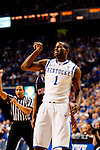 Darius Miller makes a face after missing a shot in the first half of the UK's win over Coppin State at Rupp Arena on Dec. 28, 2010. Photo by Britney McIntosh | Staff