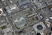 aerial photograph Civic Center San Francisco, California