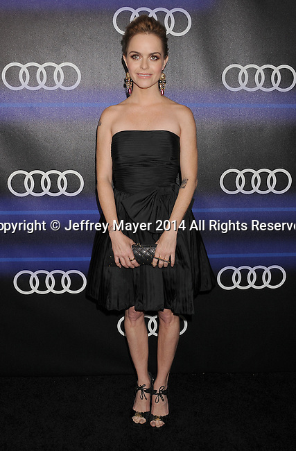LOS ANGELES, CA- AUGUST 21: Actress Taryn Manning arrives at the Audi Emmy Week Celebration at Cecconi's Restaurant on August 21, 2014 in Los Angeles, California.
