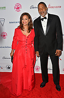 LOS ANGELES, CA. October 06, 2018: Debbie Allen & Norm Nixon at the 2018 Carousel of Hope Ball at the Beverly Hilton Hotel.<br /> Picture: Paul Smith/Featureflash
