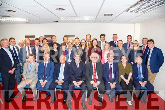 The Kerry law Society who welcomed the Dir General Ken Murphy and President of the Law Society of Ireland Sturat Gillhoully to The Grand Hotel,Tralee on Monday