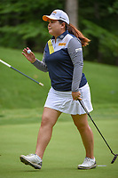 Inbee Park (KOR) after sinking her putt on 13 during round 2 of the U.S. Women's Open Championship, Shoal Creek Country Club, at Birmingham, Alabama, USA. 6/1/2018.<br /> Picture: Golffile | Ken Murray<br /> <br /> All photo usage must carry mandatory copyright credit (&copy; Golffile | Ken Murray)