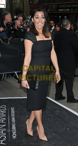 LONDON, ENGLAND - APRIL 17: Laila Rouass attends the Asian Awards 2015, Grosvenor House Hotel, Park Lane, on Friday April 17, 2015 in London, England, UK. <br /> CAP/CAN<br /> &copy;Can Nguyen/Capital Pictures