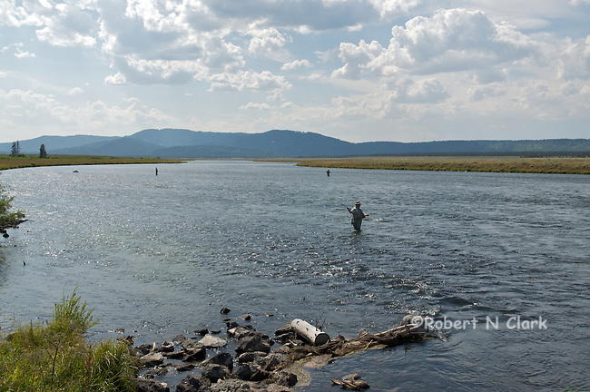 Harriman Wildlife Refuge on the Henry's Fork, Last Chance, Idaho