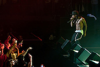 Hip-hop superstar Lil Wayne performs at the Allen Event Center in Allen, Texas, US, on Thursday, Jan., 8, 2009. Lil Wayne is scheduled to go to jail for a year in Feb. on weapons charges...PHOTOS/ MATT NAGER