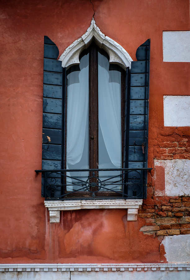 VENICE, ITALY - CIRCA MAY 2015: Typical windows in Venice