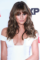 HOLLYWOOD, LOS ANGELES, CA, USA - SEPTEMBER 06: Lea Michele arrives at the Los Angeles Premiere Of FX's 'Sons Of Anarchy' Season 7 held at the TCL Chinese Theatre on September 6, 2014 in Hollywood, Los Angeles, California, United States. (Photo by David Acosta/Celebrity Monitor)