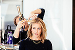 LOS ANGELES - April 13: Comedian, actress, writer, television host, and producer Chelsea Handler has her hair done by Christine Symonds, and her makeup done by Katey Denno, at her home in Los Angeles, California on Wednesday, April 13, 2016. (Photo by Brinson+Banks)