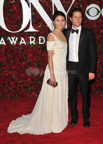 NEW YORK, NY - JUNE 12: Phillipa Soo at the 70th Annual Tony Awards at The Beacon Theatre on June 12, 2016 in New York City. Credit: John Palmer/MediaPunch