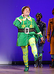 Jordan Gelber during the First Performance Curtain Call of the Broadway Holiday Hit Musical 'Elf'  at the Al Hirschfeld  Theatre in New York City on 11/09/2012