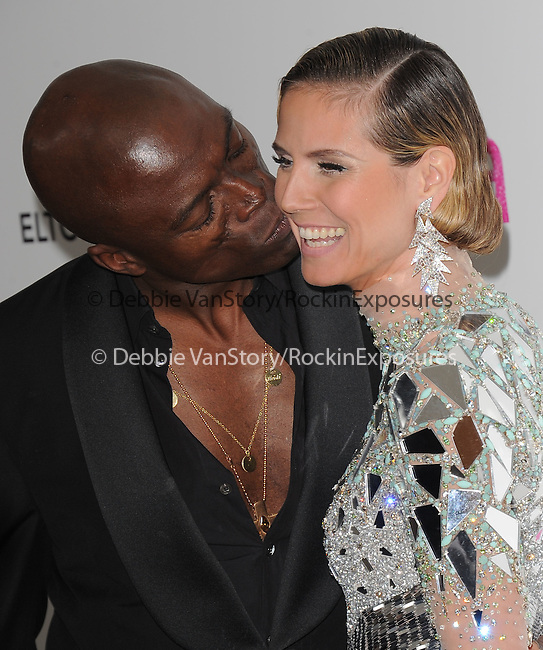 Heidi Klum and Seal at the 19th Annual Elton John AIDS Foundation Academy Awards Viewing Party held at The Pacific Design Center Outdoor Plaza in West Hollywood, California on August 27,2011                                                                               © 2011 DVS / Hollywood Press Agency