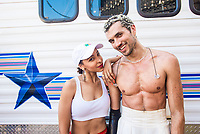Tinashe and Saro on Day Three of LA Pride in West Hollywood, California on June 9, 2019. <br /> CAP/MPI/IS/CT<br /> ©CT/IS/MPI/Capital Pictures