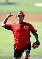 Edward Concepcion, 2010 Salem-Keizer Volcanoes.Photo by:  Bill Mitchell/Four Seam Images..