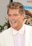 "Universal City, CA - March 27: David Hasselhoff arrives at the Los Angeles premiere of ""Hop"" at Universal Studios Hollywood on March 27, 2011 in Universal City, California."