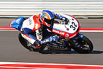 Isaac Vinales (32) in action during the Red Bull MotoGP of the Americas practice session at Circuit of the Americas racetrack in Austin,Texas. ..