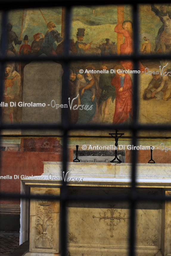Visita guidata alla Basilica di San Clemente.Corso di storia dell'arte, docente Stefania Laurenti.Upter. L' Università popolare di Roma si occupa dell' apprendimento permanente degli adulti.Popular University of Rome is responsible for Life Long Learning.