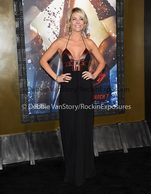 McKenzie Westmore attends The Warner Bros. Pictures L.A. Premiere of 300 : Rise of an Empire held at The TCL Chinese Theatre in Hollywood, California on March 04,2014                                                                               © 2014 Hollywood Press Agency