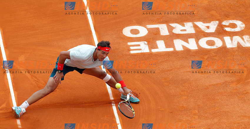Rafael Nadal, Monte - Carlo, Monaco 19/4/2013 .Monte - Carlo Rolex Masters, Tennis, Atp World Tour.Tennis..Foto Marco Bertorello Insidefoto