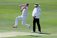 Jamie Porter in bowling action for Essex during Essex CCC vs Nottinghamshire CCC, Specsavers County Championship Division 1 Cricket at The Cloudfm County Ground on 14th May 2019